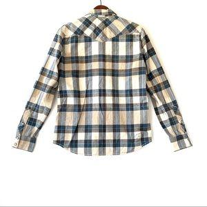 Vans Shirts - Men's Small Plaid Vans Long Sleeve Button Down.